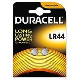 DURACELL Lot de 2 piles bouton alcalines (LR44/AG13/V13 GA) 1 Packung
