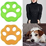 Besmon Pet Hair Remover for Laundry,Dogs and Cats Hair Catcher for Washing Machine,Non-Toxic Safety Reusable Floating Pet Fur Catcher,The Laundry Lint and Fur Remover-2 Pcs