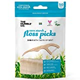 Humble Natural Dental Floss Picks - Flossers - Dental Floss Sticks - 2 x 50 pcs
