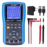 EONE ET310B Bluetooth Oscilloscope Multimeter, Connectable to Android Phone Wirelessly, Handheld Digital Oscilloscopes Kit TRMS Multimeters, 80M Sampling 20MHz Bandwidth, Auto Waveform Capture