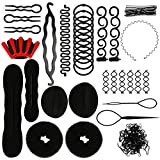 BUYGOO Accessoires de Coiffure, 137 PCS Styles Multi Set Outils de Coiffure Kit de Coiffure pour...