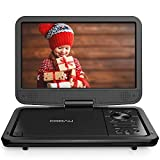 """COOAU 12.5"""" Portable DVD Player with HD Swivel Screen, 5 Hours Built-in Rechargeable Battery,..."""
