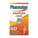 Pharmaton   Multivitamínico con ginseng   Complex 60 cápsulas   Ayuda a recuperar la energía