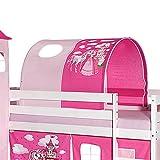 Tente de lit princesse pour lit mezzanine ou superposé