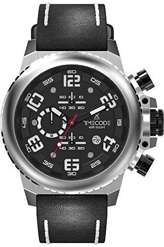 Timecode Everest 1953 Herren-Armbanduhr Chronograph Quarz TC-1004-01