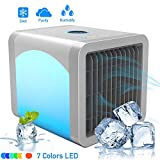 Heartbeat Personal Air Cooler, Personal Air Conditioner for Office Desk, Small Portable AC Air Conditioner, with Built-in LED Night Light
