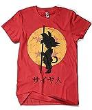 Camisetas La Colmena 164 T-shirt Dragon Ball (ddjvigo) Rouge rouge M