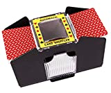 Battery Operated Automatic Card Shuffler, 4 Deck Card Shuffler for Home Card Games, Poker, Rummy, Blackjack