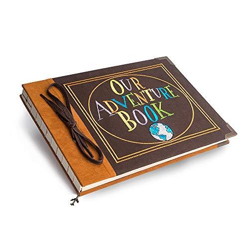 Premium Our Adventure Book Photo Album Scrapbook,...