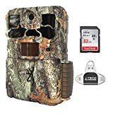 Browning Spec Ops Edge (2020) Trail Game Camera Bundle Includes 32GB Memory Card and J-TECH iPhone/iPad/Android USB Memory Card Reader (20MP) | BTC8E