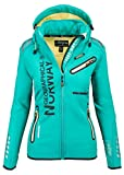 Geographical Norway Veste Softshell pour femme - Vert - Large