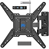 Mounting Dream Full Motion TV Wall Mount for Most 26-55 Inch TVs, Wall Mount for TV with Swivel...