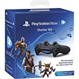 PlayStation Now Starter Kit Black (PS4 Controller + USB Cable + PSN one month) (Video Game)