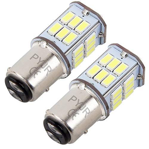 P21/5w 1157 bay15d led Lampadina 5 watt 10-30V Ampia tensione, 50W equivalente, luce bianca, per luci di posizione, luce dei freni, fanali posteriori, luce stop etc