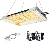 MARS HYDRO TS 600W LED Grow Light 2x2 ft Sunlike Full Spectrum Led Grow Lamp Plants Growing Lights for Hydroponic Indoor Seeding Veg and Bloom Greenhouse Growing Light Fixtures Four for 4x4 Coverage