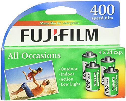 FUJIFILM フジフィルム Superia X-TRA カラーフィルム(4本入り) 1014258 並行輸入品