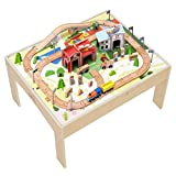 Teamson Kids-Country Train Véhicule Monde Miniature Circuit Table de Jeu...