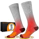 Chaussettes chauffantes pour hommes / femmes, chaussettes électriques...