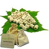 Green Koalas X50 Pack Purificateur Naturel Perles Céramique EM Roses (X30)...