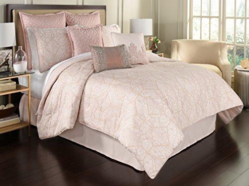 Beautyrest Montreal 4-Piece Comforter Set, Queen, Blush