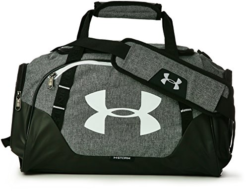Under Armour UA Undeniable Duffle 3.0 XS, Borsone Unisex Adulto, Grigio (Graphite/Black/White), 50.8 x 26.2 x 23.9 cm