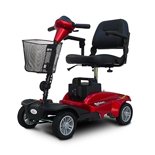 EV Rider MiniRider MiniRider 4 Wheel Travel Scooter (Red)