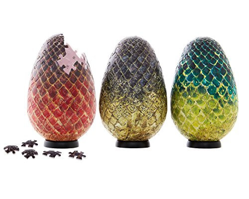 Game of Thrones Dragon Egg Puzzles Set