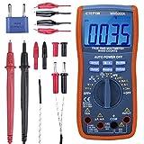 ETEPON Multimetro Digitale TRMS 6000 Conti, Tester Digitale Voltaggio Automatico