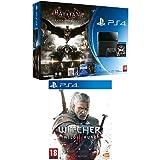 Contenu : Console PlayStation 4 - jet black + Batman Arkham Knight + Comics The Witcher 3 : Wild Hunt