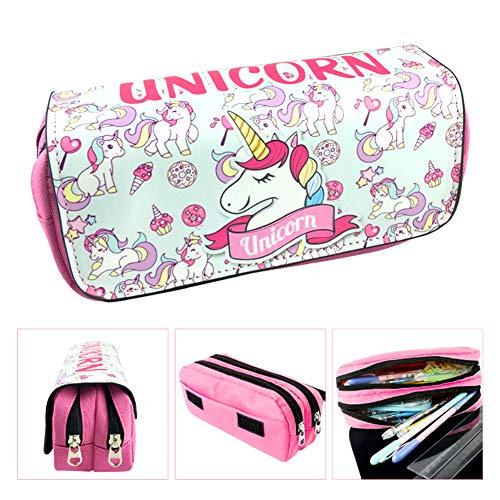 Astuccio per Penne BETOY Astuccio Matite Piccolo Unicorno Astucci Ragazza Ragazzo 20 cm per Bambini...