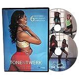 TONE N TWERK DVD: 6 Booty Toning & Twerk Dance Workouts For Women, 30 Min Each. Includes Exercise Programs For Beginners & Advanced. Strengthen Your Booty While Having Fun & Feeling Feminine!