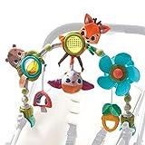 Tiny Love Musical Nature Stroll Arco de juegos educativo con sonajero y actividades, a partir de 0 meses, Clips de acople universales, Into The Forest