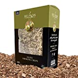 HUMOS Olive Flavored Wood Chips 180 CU in for BBQ & Smoke in Gas or Electric Grill