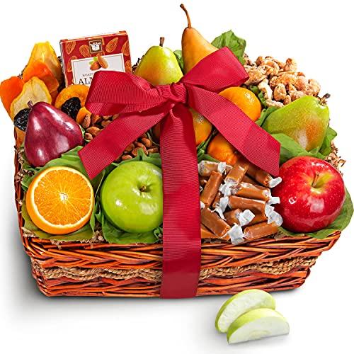Golden State Fruit Orchard Delight Fruit and Gourmet Basket...