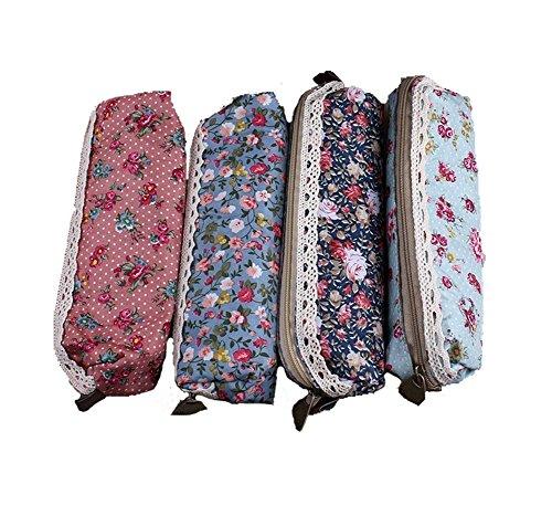 Demarkt Astuccio portamatite cassa di matita in tela per studenti cancelleria stoccaggio borsa...