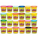 24 PACK: Case of Colors has plenty of non toxic Play Doh modeling compound for the whole family to shape and create RAINBOW ASSORTMENT: It's a rainbow assortment of Play Doh modeling compound colors that lets you create just about anything you can im...