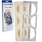 Pierogi Maker by Cucina Pro - Includes Tray and Press - Makes 6 Dumplings, Potstickers, or Peirogis at  a time