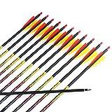 Misayar 12Pcs/lot 30 Inch Carbon Arrows...
