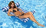 Poolmaster Swimming Pool Water Hammock Lounge, Blue, (Model: 07431)
