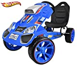 Hot Wheels XL Pedal Ride On, Blue