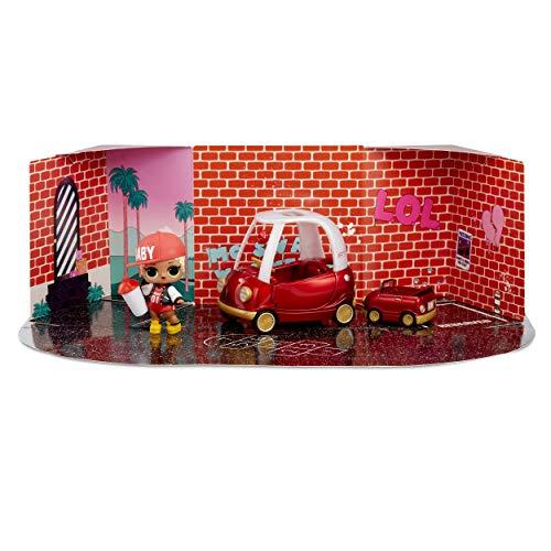 Image 1 - MGA- Meubles L.O.L Cozy Coupe avec poupée M.C. Swag et 10+ Surprises Toy, 564096E7C, Multicolore