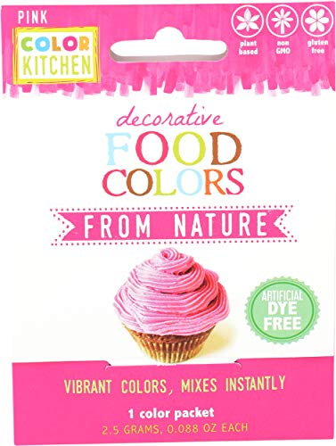 Natural Pink Food Color Packets