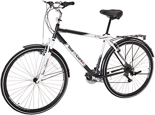 Tour de Cure Men's Hybrid Bike, 700C,...
