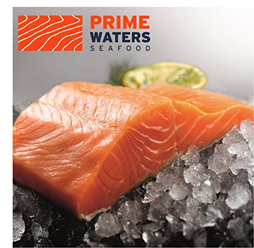 PrimeWaters Coho Salmon from Chile, 5 ounces, Frozen (28 portions)