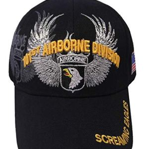 US Warriors Army 82nd 101st Airborne Division Veterans Hat Officially Licensed Military Cap