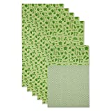 DII Fridge Liner Collection Non-Adhesive, Cut to Fit, 12x24, Green Veggies