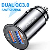 AINOPE allume cigare usb, [Dual QC3.0 Port] 36W/6A [All Metal] chargeur allume...