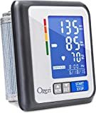 Ozeri CardioTech Travel Series BP6T Rechargeable Blood Pressure Monitor with Hypertension Indicator