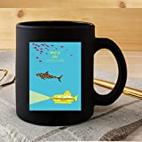 GOGOLD This is an Adventure Poster The #Life #Aquatic with Film #Steve #Zissou Costume Movie Drama Sitcom tv Show Comedy Action Funny Coffee Tea Women Men Cups Mugs