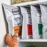 Ember Traditionelle Droëwors 1kg – Rinderstäbchen – Proteinreicher Snack – Original (2x500g) - 5